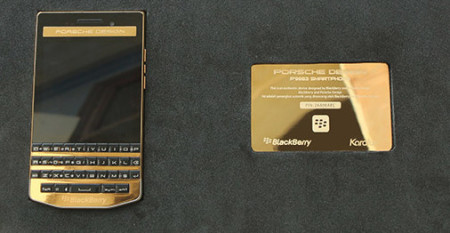 BlackBerry Porsche Design P'9983 Gold Edition