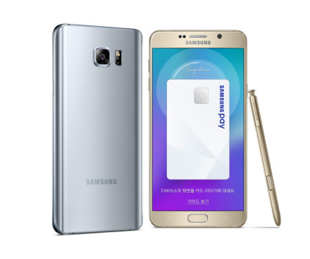 Samsung Galaxy Note 5 Winter Edition